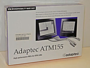 Adaptec ATM155 Model ANA-5930/512 Network PCI Bus Interface Card -- SEALED NEW