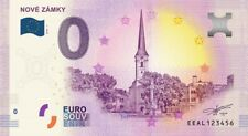 Billet Touristique 0 Euro - Nové Zamsky - 2018-1