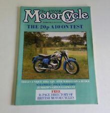 The Classic Motorcycle Magazine October 1986 Bsa Zundapp Ajs Rudge.