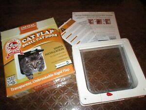 """IDEAL PET-CAT FLAP SMALL CAT DOOR-6 1/4"""" X 6 1/4""""-UP TO 12 LBS-NIB"""