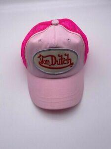 New Von Dutch Originals Authentic Truckers Hat Snapback Baby Size!
