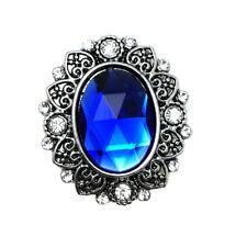 3D Crystal Heart Chunk Charm Snap Button Fit For Noosa Necklace/Bracelet  NSKZ4