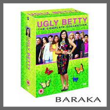 Ugly Betty Complete Seasons 1, 2, 3 & 4 DVD Box Set Collection New Sealed