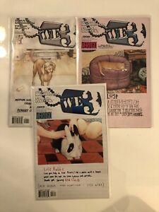 Complete Set We 3 #1 2 3 Vertigo Comics (2004-2005) NM 9.4