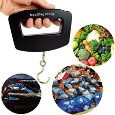 1x50KG Home Electronic Digital Hanging Weight Hook Portable Travel Luggage Scale