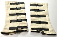 CIVIL WAR US UNION CS CONFEDERATE BOOTS CANVAS GAITERS LEGGINGS SPATS