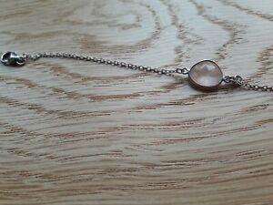 Bracelet argent 925 AGATHA et quartz