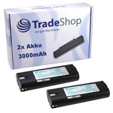 2x Trade-Shop Hochleistungs Akku 7,2V 3000mAh ersetzt Einhell 91011