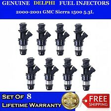 8x ADD PERFORMANCE 4 Hole OEM Fuel injectors 2000-2001 GMC Sierra 1500 5.3L