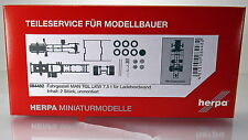 Herpa LKW  084482  Fahrgestell MAN TGL LKW 7,5 t für Ladebordwand 2 Stück