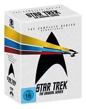 STAR TREK completo Serie de TV NAVE ESPACIAL ENTERPRISE Captain Kirk 23 Caja DVD