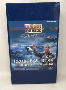 George W. Bush Elite Force Aviator Action Figure US President | Blue Box Toys