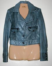 JOU JOU faux leather jacket vinyl pvc clubwear punk Y2K 90s cyber pop Zenon