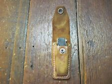 VTG BLACKIE COLLINS MEYERCO KNIFE SHEATH ASSISTED SHEATH LINERLOCK UNUSED