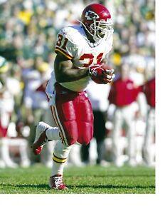 8x10 photo football Priest Holmes, Kansas City Chiefs