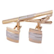 Stainless Steel Rectangular Cufflinks for Men
