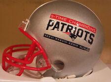 New England Patriots 5 Time Super Bowl Champions Limited Riddell Mini Helmet