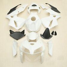 Unpainted White ABS Bodywork Set Fairing Kit For Honda CBR600RR 2005-2006 05 06