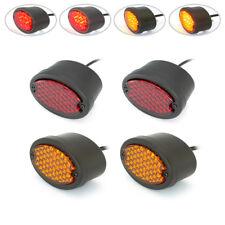 Schwarz LED Stop Rücklicht Blinker Hot Rod Pick Up Lastwagen Oldtimer Set mit 4