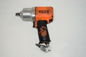 "Matco MT2769 1/2"" Composite Impact Wrench - Orange - TESTED - w/Swivel Adapter"