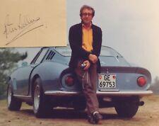 PETER SELLERS AUTOGRAPHED SIGNED PAPER JSA COA