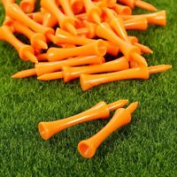 100Pcs Plastic Assorted Castle Golf Step Tees 70mm Club Aid Training Accseeories