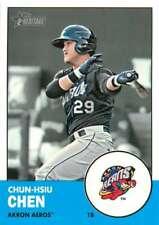 2012 Topps Heritage Minor League #147 Chun-Hsiu Chen NM-MT