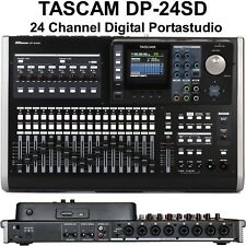 TASCAM DP-24SD PORTASTUDIO Home & Live Recording Digital Mixer