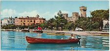 LAGO DI GARDA - SIRMIONE - PANORAMA - MINI CARTOLINA MIGNON SCOPE (BRESCIA) 1964