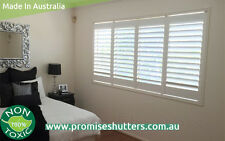 Vinyl plantation shutters from $199/sqm in Brisbane Gold coast