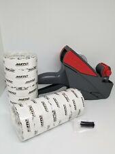 Price Label Gun Meto 5s26 1 Line Box White Labels Amp Ink Roller Value Pack