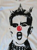 VIVIENNE WESTWOOD PUNK GIRL Red Nose T-SHIRT BRAND NEW - Women's SIZES M, L, XL