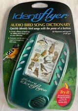 Audio Bird Song Dictionary Identiflyer NEW Identifier Birdsong Classic w 2 Cards