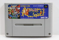 Cho Makaimura Ghost & Goblins SFC Nintendo Super Famicom SNES Japan Import I6631