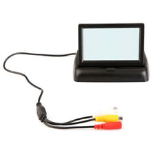 "Foldable 4.3"" Color LCD TFT Reverse Rear view Monitor for Car Back Up Camera O9I"