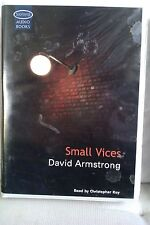 Small Vices by David Armstrong: Unabridged Cassette Audiobook (U4)