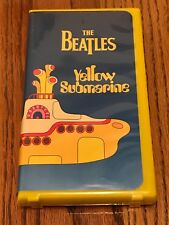 THE BEATLES YELLOW SUBMARINE VHS MOVIE IN CLAMSHELL CASE ~ 1999