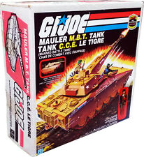 GI Joe Mauler M.B.T. Tank, Vintage 1985, Collectible, New! MISB! AFA IT!!