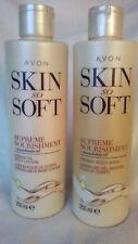 AVON SKIN SO SOFT SUPREME NOURISHMENT ~ BODY WASH + BODY LOTION SET *BRAND NEW*