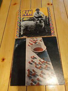 Paul MccartneyVinyl LP Lot of 2 Record Albums RAM & MCCARTNEY