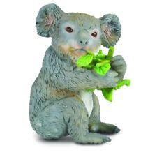 Koala Eating Eucalyptus - CollectA (88357): vinyl miniature toy animal figure