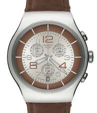 "SWATCH IRONY the CHRONO ""BRONZO MASSICCIO"" (yos435), merce nuova RARO"