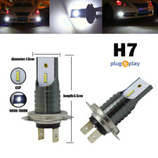 2x 110W H7 Led Headlight Bulb Canbus No-Error High Low Beam Drl Fog Light White