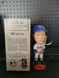New in box Don Drysdale SAMs Bobblehead Los Angeles Dodgers RARE