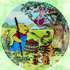 Disney Winnie The Pooh Plate Bradford Fun 100 Acre Woods Apple For You Pooh 9th