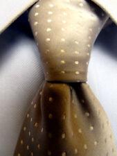 Mens Burma Bibas Gray Silk Tie A3419