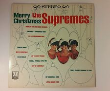 MOTOWN SUPREMES - MERRY CHRISTMAS- LP - vINYL DETROIT SOUND STEREO 5252ML