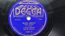 Latin 78rpm solo 10 Pulgadas-Carlos Molina y su Orquesta Buen Amigo