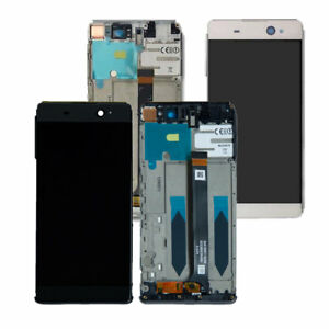 For Sony Xperia XA Ultra F3215 F3213 C6 LCD Screen Display Touch Digitizer Frame