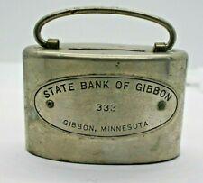 Coin Bank State Bank of Gibbon, Minnesota no key